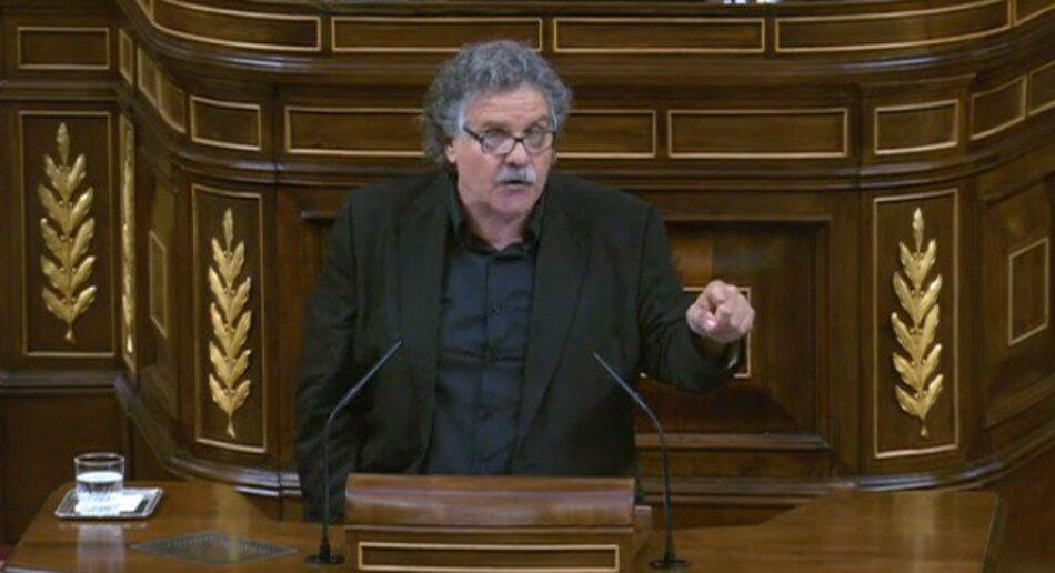 Tardà: 'Si tan convençuts estan que Catalunya no vol la independència, per què s'han negat a preguntar-li?'