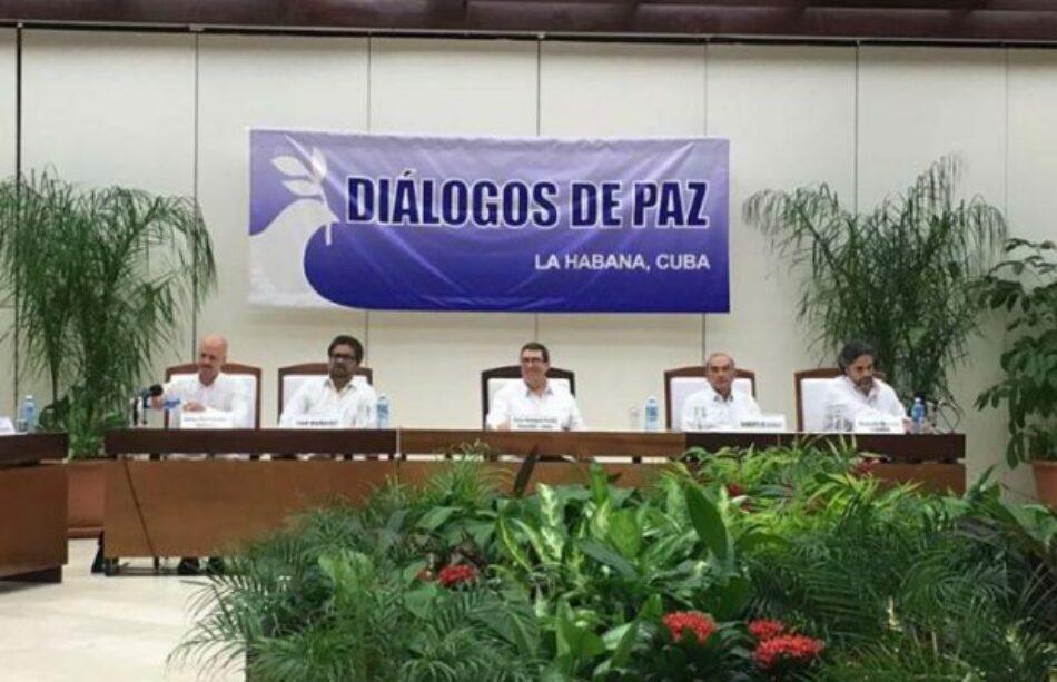 Colombia: Jefes negociadores por la paz ratifican acuerdo final en Cuba