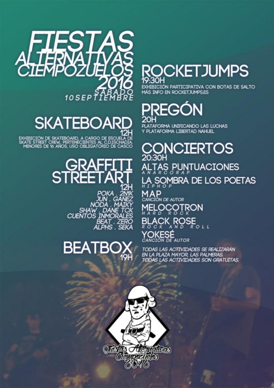 Fiestas Alternativas Ciempozuelos 2016
