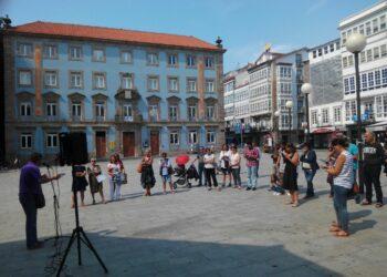 Presentación en Ferrol: «25 Propostas para un Goberno de Esquerdas o 25S», por Marea do Pobo