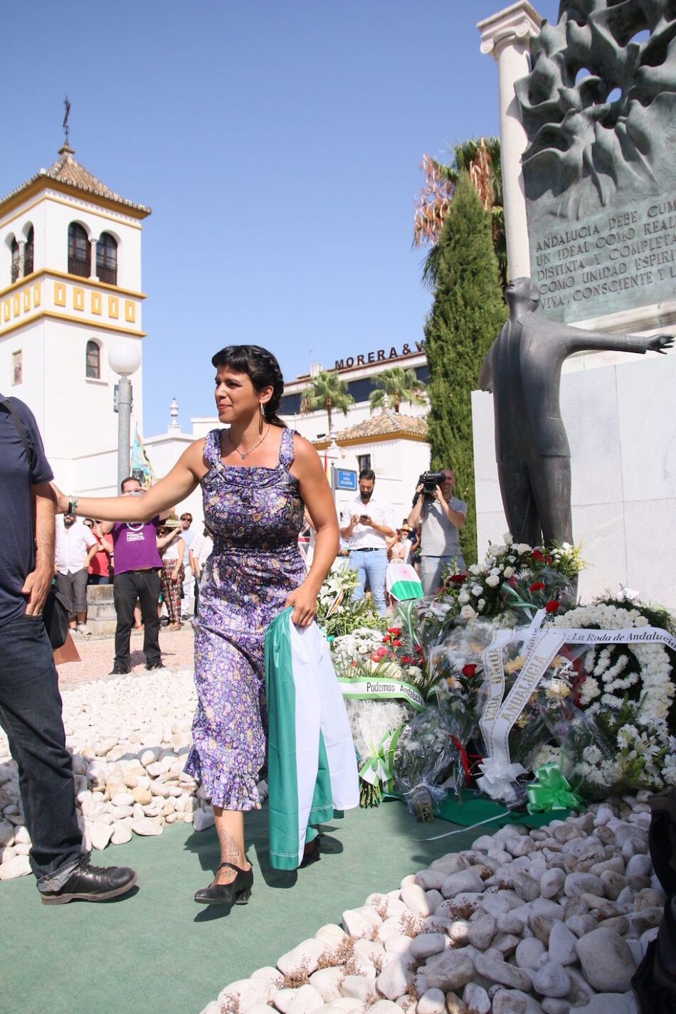 Teresa Rodríguez pide recuperar el legado de Blas Infante para sacar a Andalucía de la situación de subdesarrollo