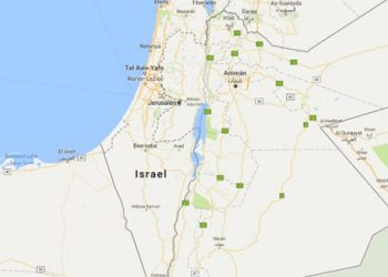 Google borra de su mapa a Palestina