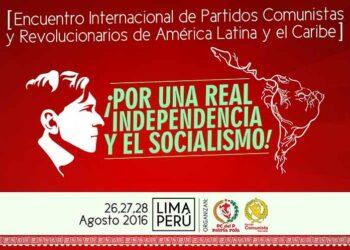 Fervor de unidad y lucha abre cita de izquierda latinoamericana