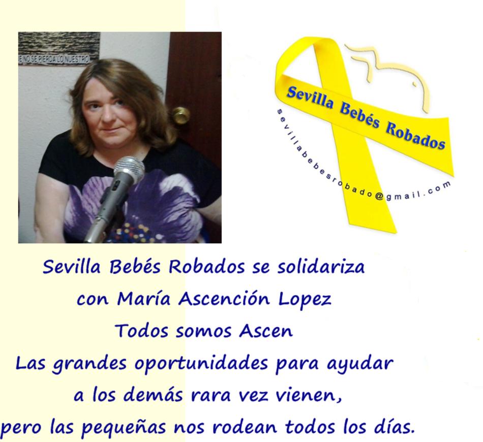 Concentración Asociación Sevilla Bebés Robados y Las Madres De La Plaza De San Francisco: 7 de agosto