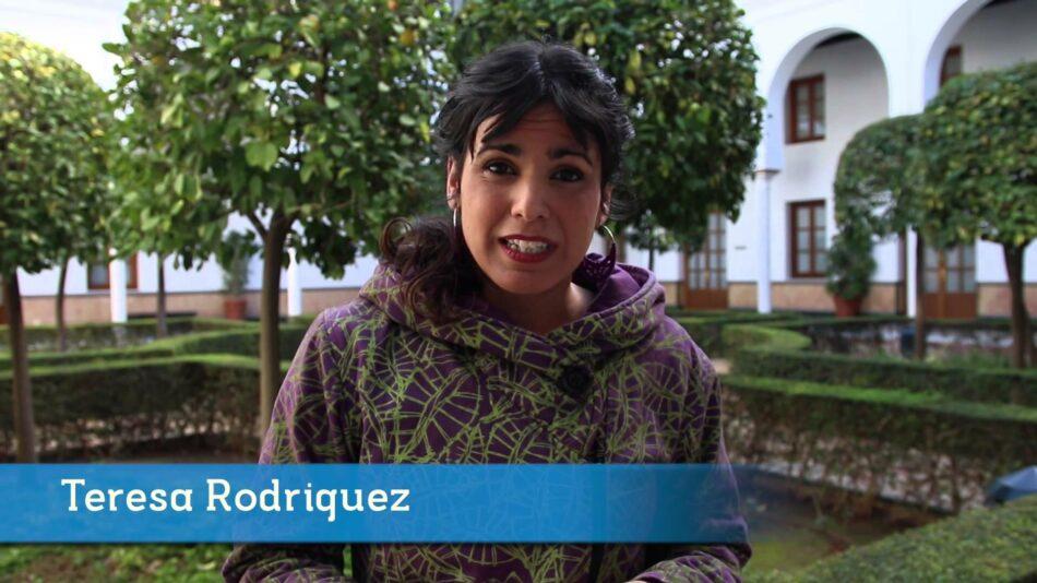 Rodríguez insta a Susana Díaz a no atender el pacto de PP y C's para elaborar los presupuestos andaluces
