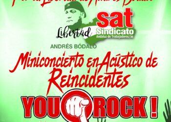 Reincidentes en concierto solidario por Andrés Bódalo en Linares este viernes