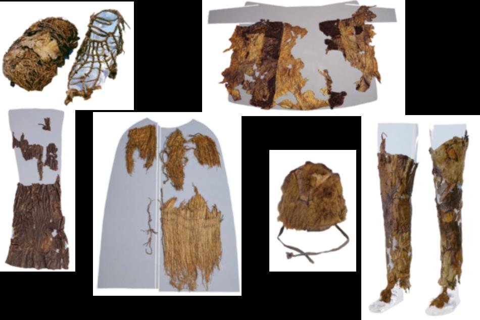 Ötzi, el «hombre de hielo», llevaba sombrero de piel de oso y abrigo de cuero de cabra