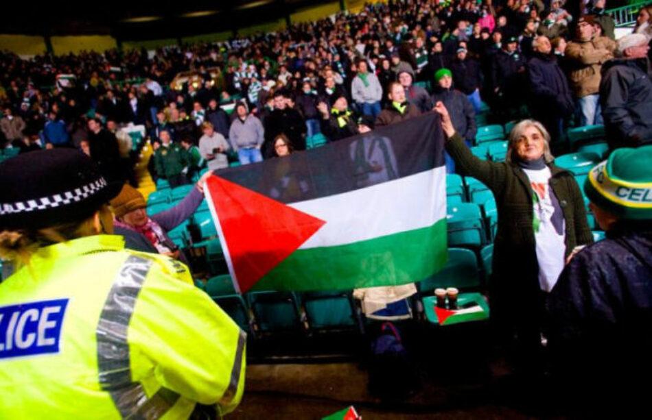 Policía israelí avisa que se incautará todas las banderas palestinas antes del Hapoel Beer Sheva-Celtic