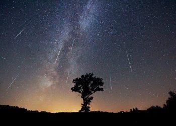 La lluvia de estrellas de las perseidas podría alcanzar este año los quinientos meteoros por hora