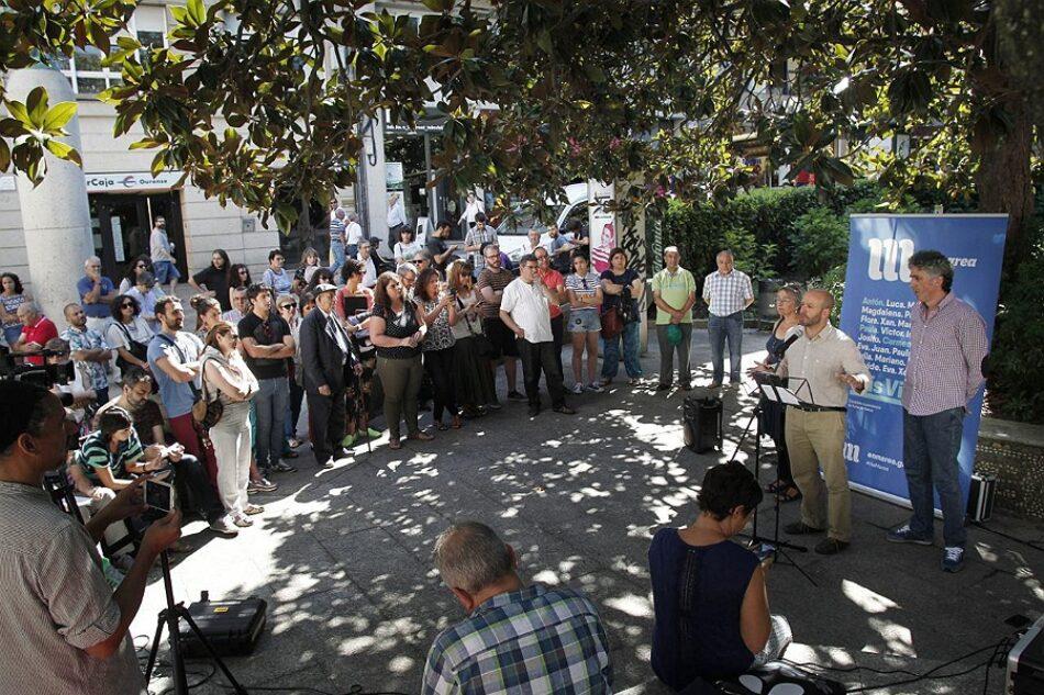 """Luís Villares: """"En Marea representa o fin do caciquismo e da corrupción que alimenta a coalición Baltar-Feijóo"""""""