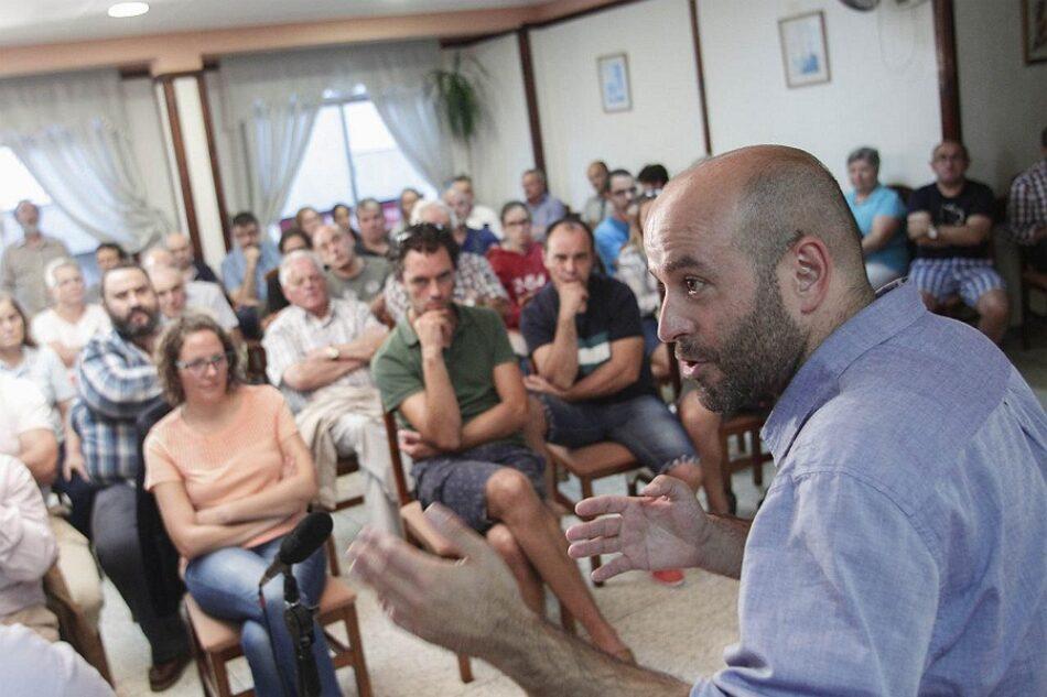 Luís Villares presenta as propostas de En Marea para a Costa da Morte fronte á morea de promesas incumpridas do PP