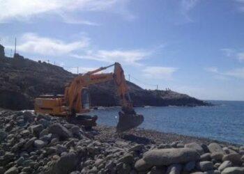 Paralización de las obras de playa Tauro (Gran Canaria)