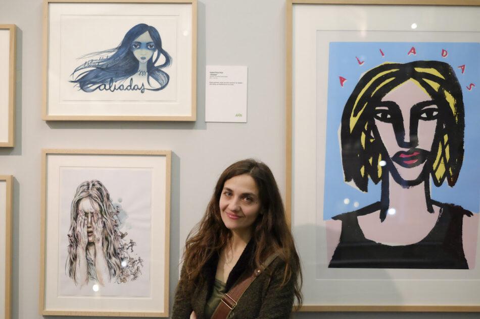Últimas dos semanas de 'Aliadas: mujeres que cambiamos el mundo', exposición solidaria con obras de 58 grandes artistas contemporáne@s
