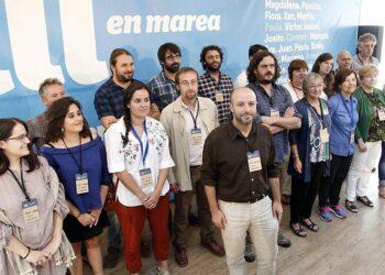 En Marea celebra unha xornada de traballo en Santiago de Compostela