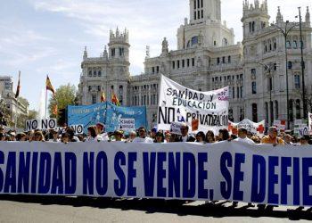 Madrid acoge la II Asamblea Estatal de Mareas Blancas y la 48º Marea regional