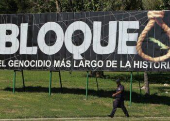 Canciller cubano acusa a EE.UU. de mantener el bloqueo económico, comercia y financiero