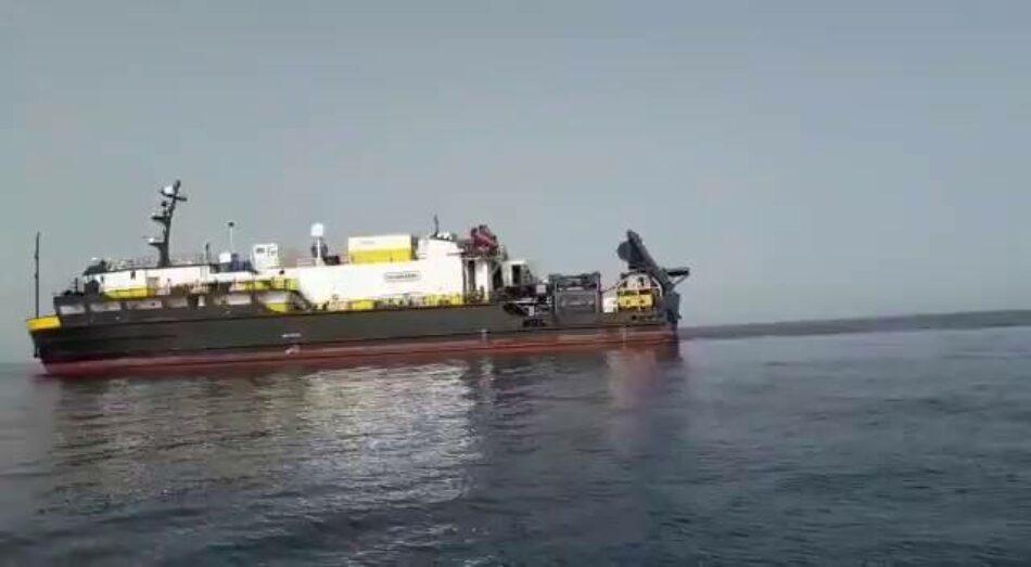 Bustamante (IU) pide que Margallo explique qué datos tiene sobre la actividad de un buque de una naviera de EE.UU localizado frente a la costa de Doñana