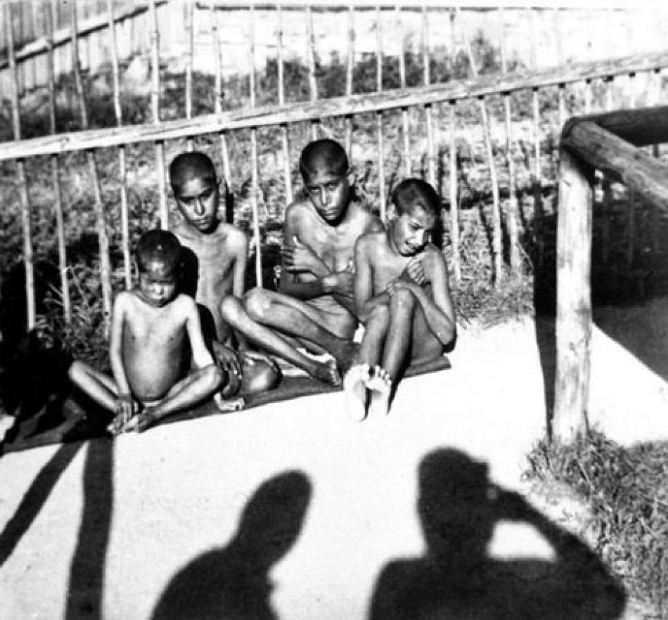 Los niños gitanos del Campo de Concentración de Lety