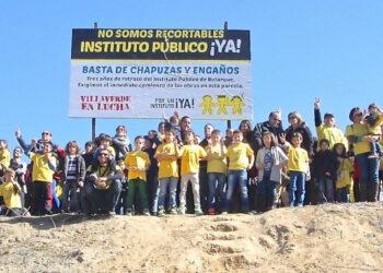 Las clases en Butarque (Villaverde) comenzarán, un año más, con las obras del instituto sin acabar