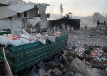 Siria. 'En la zona del ataque al convoy de ONU se vio un dron de EEUU'