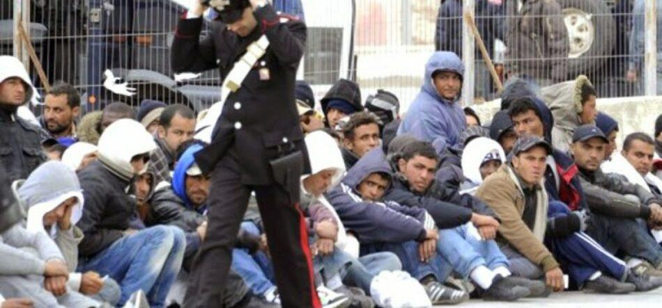 IU denuncia un contrato de Frontex por tres millones de euros para deportar refugiados por barco a Turquía