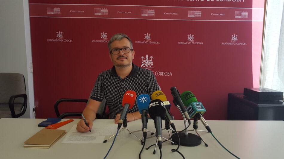 Ganemos Córdoba propone avanzar en el impulso de la laicidad y aconfensionalidad de la institución municipal
