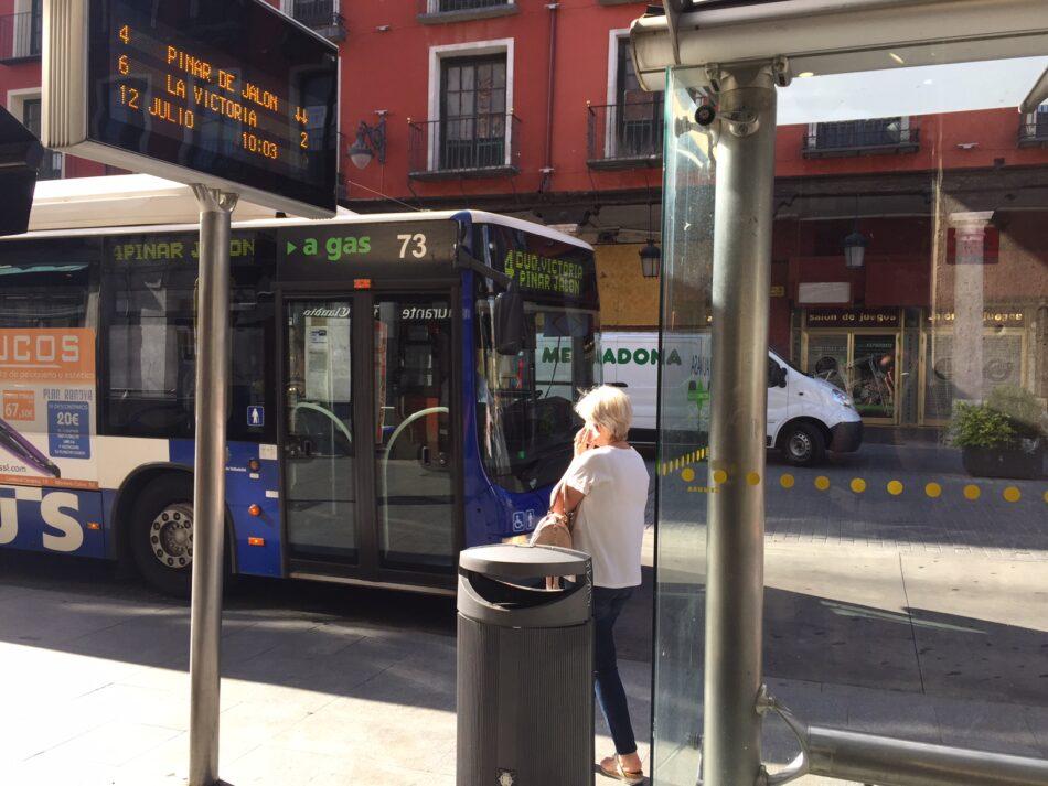 El Ayuntamiento de Valladolid licita la compra de doce autobuses diésel, los más contaminantes