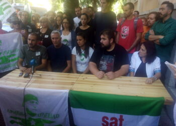 Cargos públicos y ayuntamientos piden el indulto de Andrés Bódalo