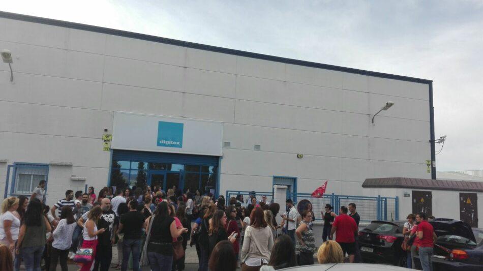 El SAT de Jaén en apoyo a los trabajadoras del telemarketing