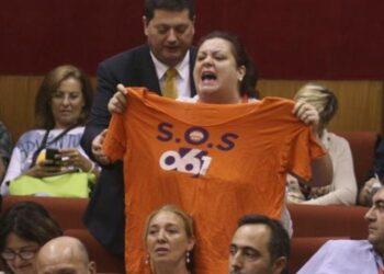 Trabajadores de los Servicios de Emergencias de Andalucía protestarán en el Comité Federal del PSOE