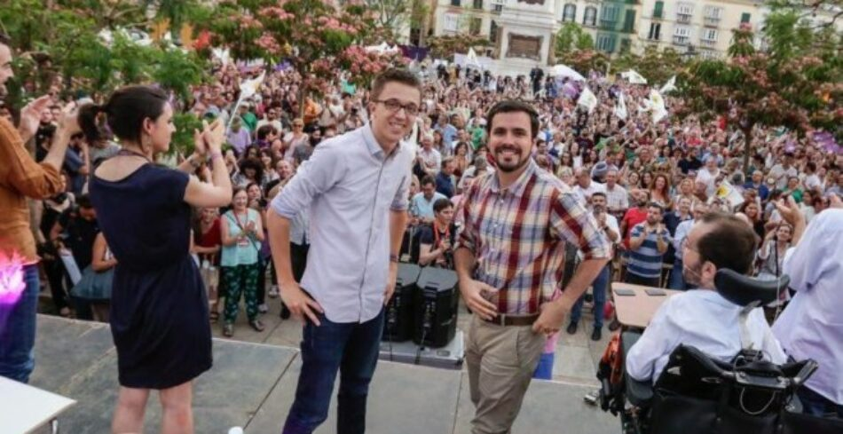 Alberto Garzón sobre el populismo de izquierdas: «es incapaz de definir un proyecto político en positivo»