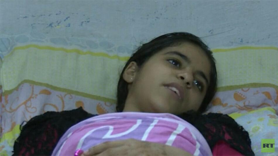 «Tengo pesadillas. Me disparan constantemente»: Una niña palestina relata cómo la tirotearon