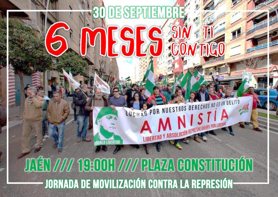 30 de septiembre: concentraciones por la libertad de Andrés Bódalo