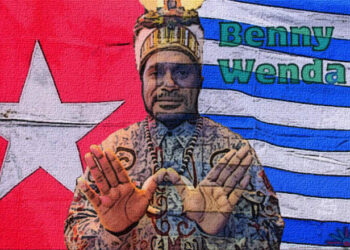 Benny Wenda, líder independentista de papúa occidental, en fisahara 2016