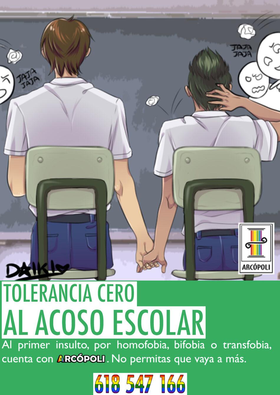 Arcópoli exige que haya realmente una educación plural y diversa en las aulas madrileñas