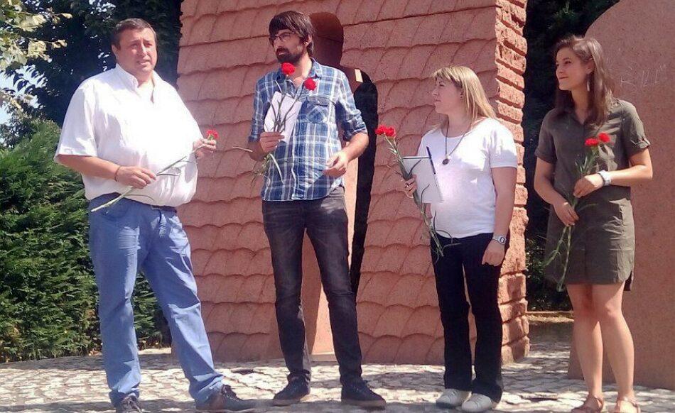 En Marea participa en Tui nunha homenaxe aos represaliados do franquismo