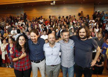 Pablo Iglesias arroupa na Coruña á candidatura de En Marea