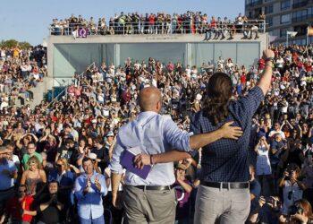 """Luís Villares: """"Quedan catro días do goberno de Feijóo contra a xente»"""