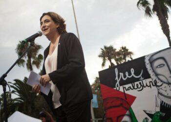 Barcelona acomiada la flotilla de Dones Rumb a Gaza amb una gran mostra de solidaritat
