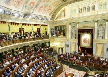 La declaración institucional en respaldo al acuerdo de paz en Colombia fue leída en el pleno de investidura tras ser registrada por Alberto Garzón