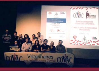 El Consejo Nacional de Organizaciones de Veterinarios de Francia se pronuncia en contra de la tauromaquia