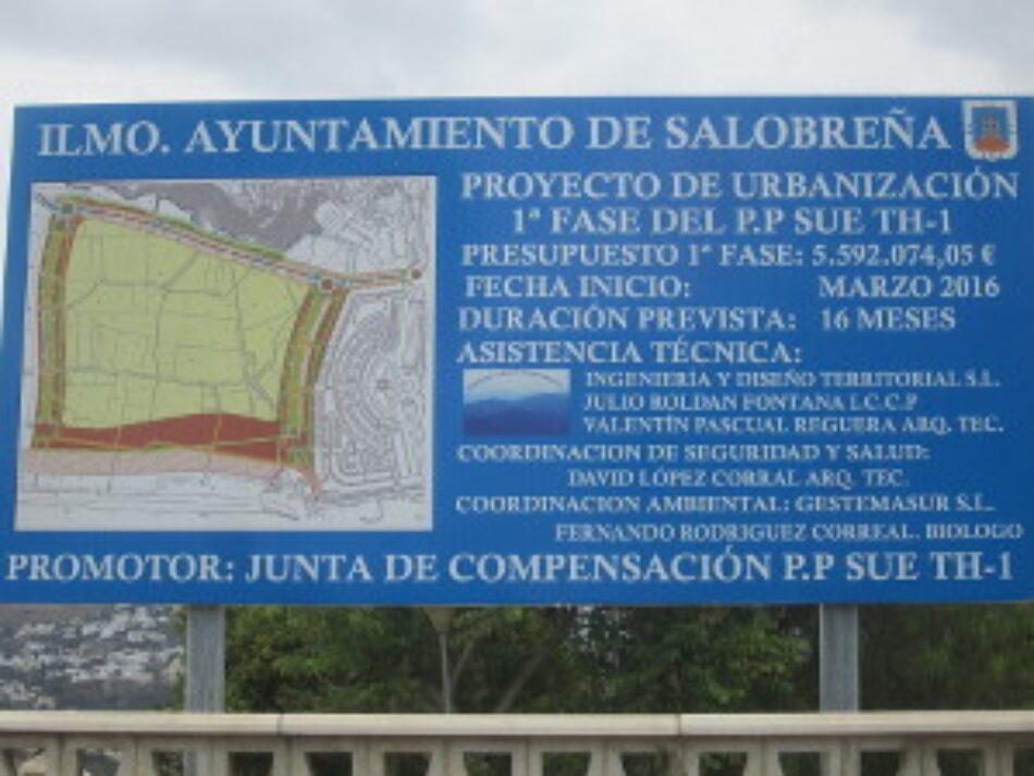 Piden la retirada de las competencias urbanísticas al Ayuntamiento de Salobreña