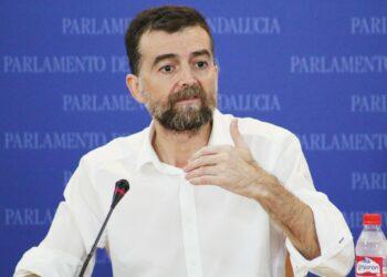 Antonio Maíllo en el Parlamento de Andalucía: «La alternativa debe conformarse al minuto siguiente de que Rajoy vuelva a ser rechazado mañana»