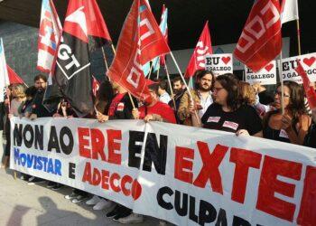 """Antón Sánchez: """"Non se pode consentir que máis do 50% dos despedimentos de EXTEL a nivel estatal sexan en Galicia"""""""