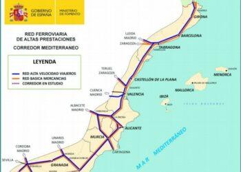 En Comú Podem exigeix que el Govern prioritzi en la seva agenda el Corredor del Mediterrani