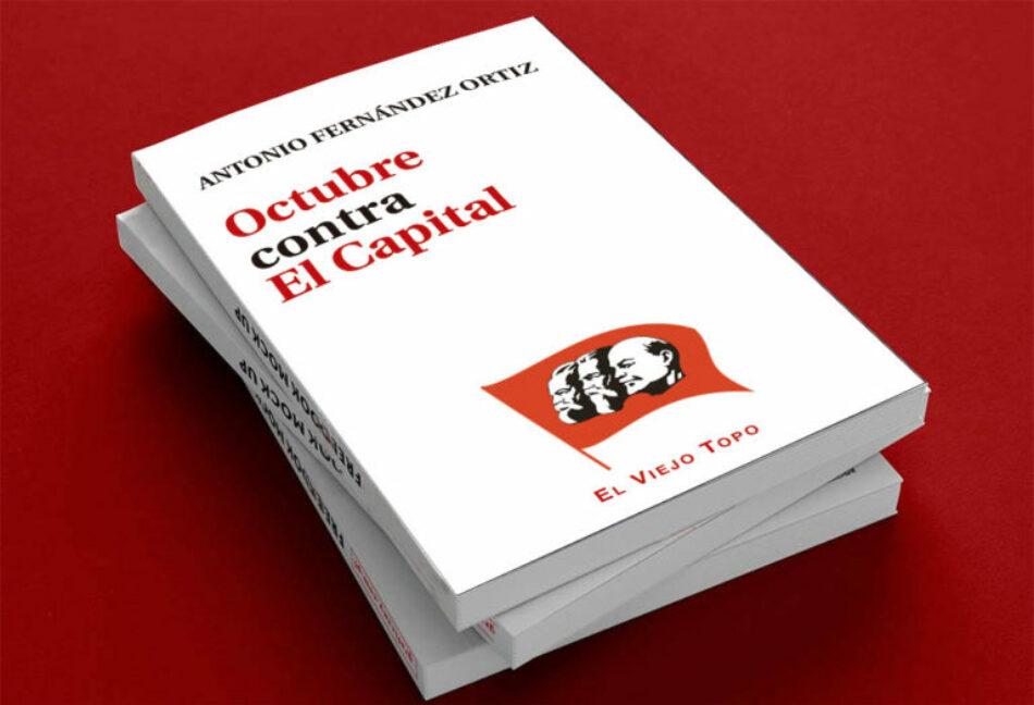 Libro 'Octubre contra El Capital'
