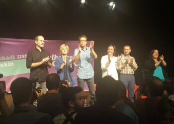"""Iñigo Martínez (Elkarrekin Podemos): """"Queremos liderar una alternativa al PNV para una nueva Euskadi donde las políticas de empleo sean una prioridad"""""""