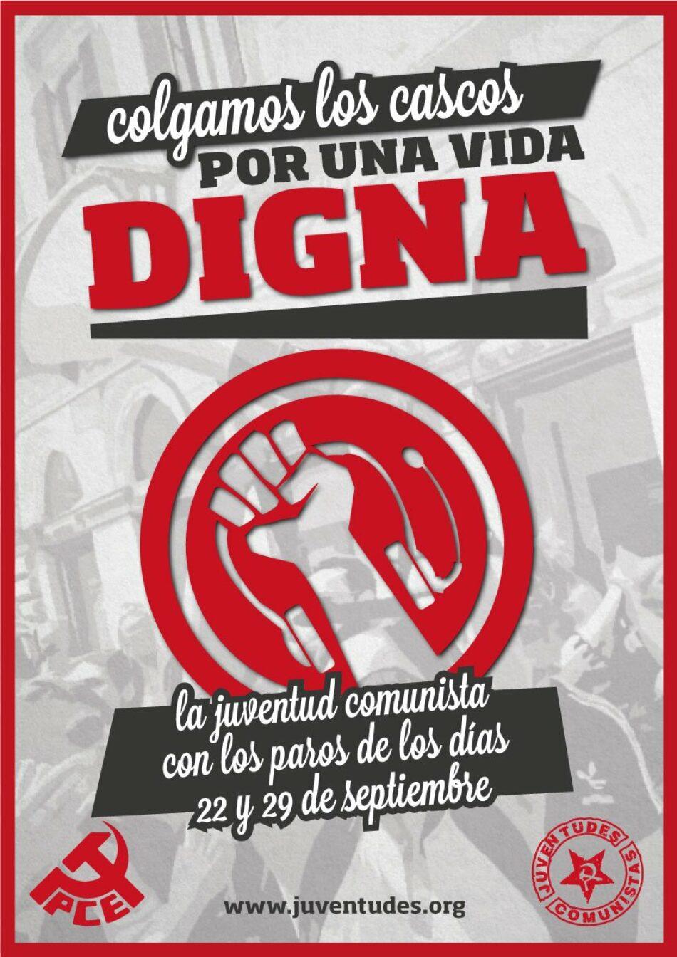 """IU traslada su """"apoyo y solidaridad"""" a las movilizaciones de trabajadores del sector de los contact center en lucha por sus condiciones laborales"""