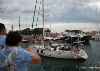 El velero Zaytouna-Oliva llega hoy a Ajaccio (Francia)