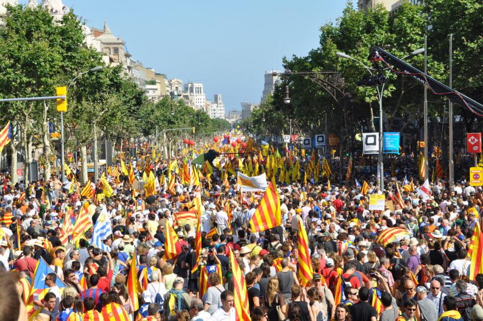 Barcelona En Comú en l'11 de setembre de 2016